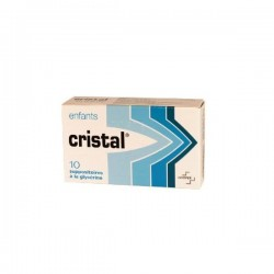 Cristal Suppositoire enfant 10 suppositoires
