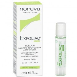 Noreva Exfoliac roll-on anti-bouton 5ml