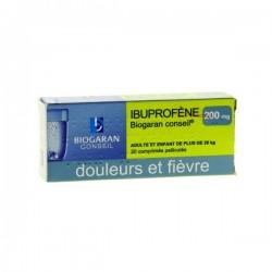 Ibuprofene biogaran conseil 200 mg 20 comprimés pélliculés