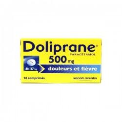 Doliprane 500 mg 16 comprimés