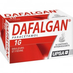 Dafalgan 1g 8 Comprimés Effervescents