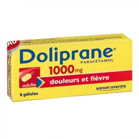 Dolipranecaps 1000mg 8 gélules