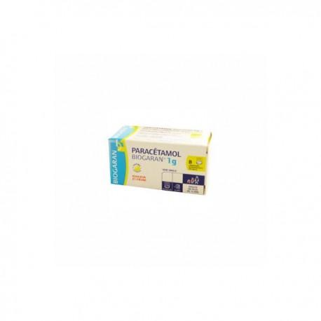 Paracétamol Biogaran 1g 8 comprimés