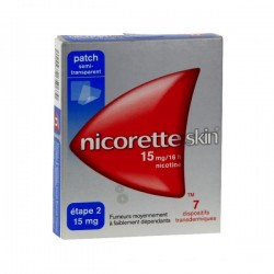 Nicoretteskin 15mg/16heures 7 dispositifs transdermiques