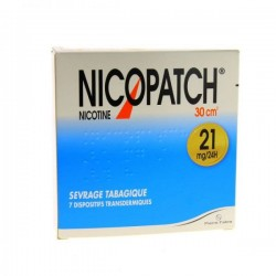 Nicopatch 21mg/24H Dispositif Transdermique 7 Sachets