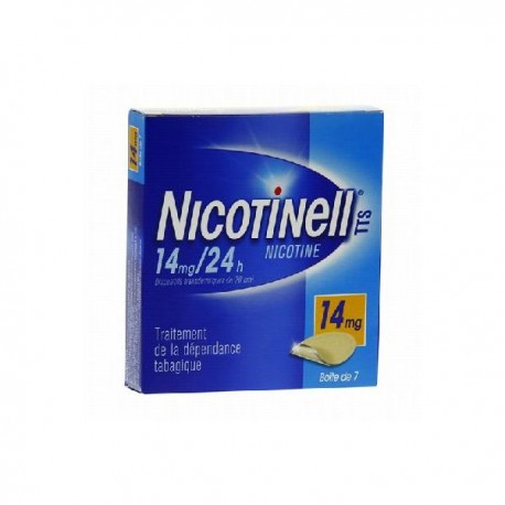 Nicotinell TTS 14mg 7 patchs