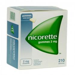 Nicorette 2Mg Sans Sucre 30 Gommes à Mâcher