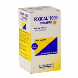 Fixical Vitamine D3 1000mg/800UI 30cpr