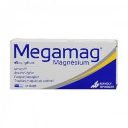 Megamag Magnésium 45mg 120 gélules