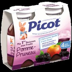 Picot Ma 1ère Boisson aux Fruits Pomme-Pruneau, 2x130ml