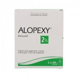 Alopexy 2% Solution Pour Application Cutanee 3x60ml