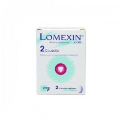 Lomexin 600mg 2 Capsules Molles Vaginales