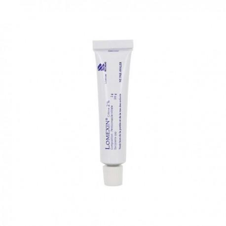 Lomexin 2% Crème Tube 15g