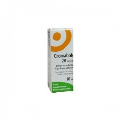 Cromabak collyre 20 mg 10ml