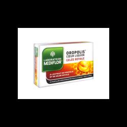 Mediflor Oropolis x16 Pastilles Coeur Liquide Gelée Royale