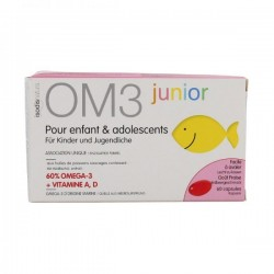 Complément équilibre et concentration om3 junior 60 capsules
