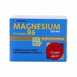 Arkopharma arkovital magnesium lot 2 x 60 gélules