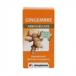 Arkopharma Arkogelules Gingembre 45 gélules