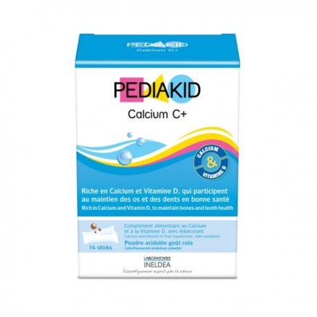 Pediakid Calcium C+ 14 Sticks