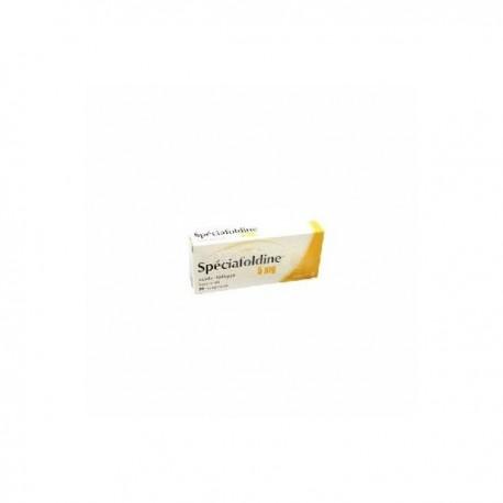 Speciafoldine 5mg 20 comprimés