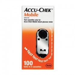 Accu Chek Mobile 100 tests 2 cassettes