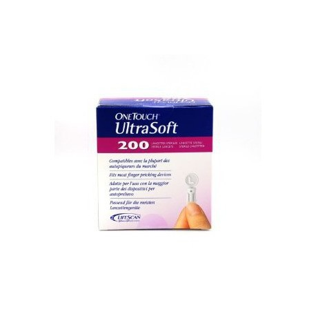 One Touch UltraSoft Lancettes 200
