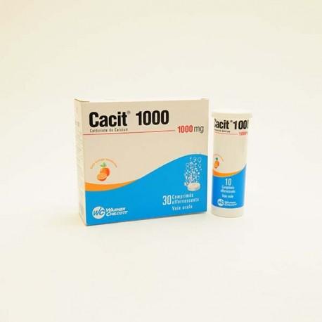 Cacit 1000mh 30 comprimés effervescents
