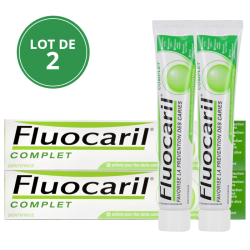 Fluocaril Dentifrice complet, 2x75ml