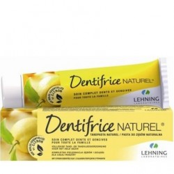 Dentifrice naturel soin complet dents & gencives citron 80g