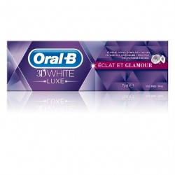 Oral B Dentifrice 3d white luxe eclat et glamour, 75 ml
