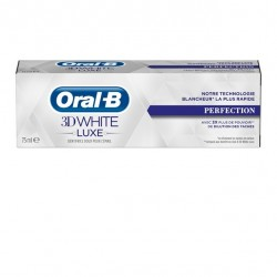 Oral B Dentifrice 3D WHITE Luxe Perfection, 75ml
