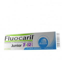 Fluocaril Dentifrice junior 7-12 ans, bubble gum 50ml