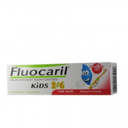 Fluocaril Dentifrice kids 2-6 ans, fraise 50ml