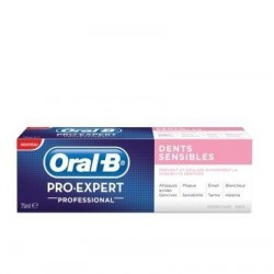 Oral B Dentifrice pro expert professional dents sensibles, 75ml