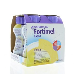 Fortimel Extra Arôme vanille 4x200ml