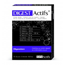 Synactif Aragan DIGESTActifs 30 gélules
