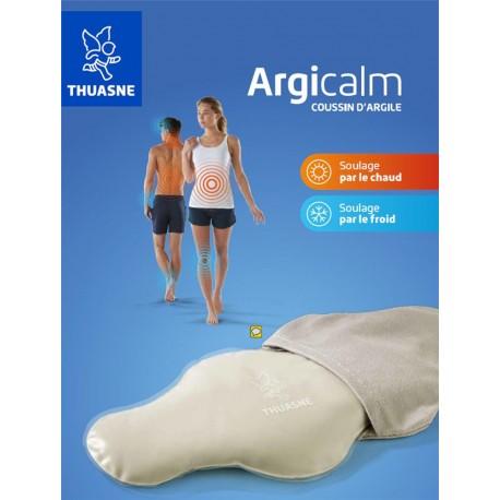 Argicalm coussin thermique argile réutilisable T4