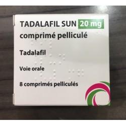 Cialis Gé, Tadalafil 20mg, 8 comprimés (Cialis® générique)