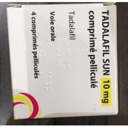 Cialis Gé, Tadalafil 10mg, 4 comprimés (Cialis® générique)