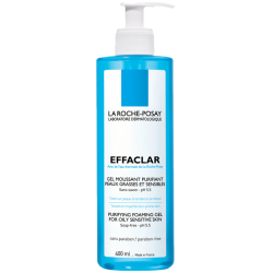 Effaclar gel moussant purifiant, 400ml