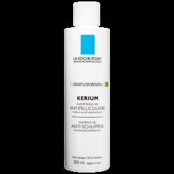 Kerium shampooing-gel anti pellicules grasses, 200ml