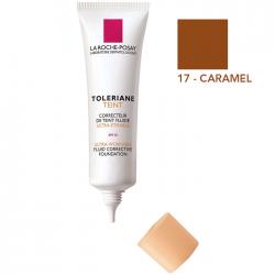 Toleriane fond de teint fluide 17 caramel, 30ml