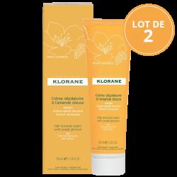 Klorane Crème Dépilatoire très Douce 2x150ml