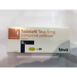 Cialis Gé, Tadalafil 5mg, 28 comprimés (Cialis® générique)