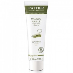 Cattier Masque cr Argile verte PG T/100ml