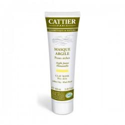 Cattier Masque crème argile jaune PS T/100ml