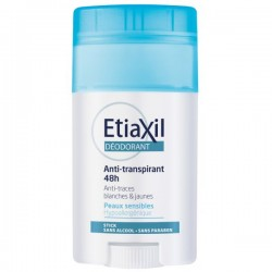 EtiaXil Déo anti-transpirant 48h peaux sensibles roll-on 40ml