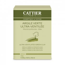 Cattier Argile verte ultra ventilée 252gr