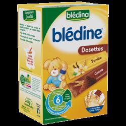 Blédina Blédine Vanille & Cacao, 12 dosettes