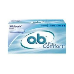 OB Tampons ProComfort Light Days, boite de 16
